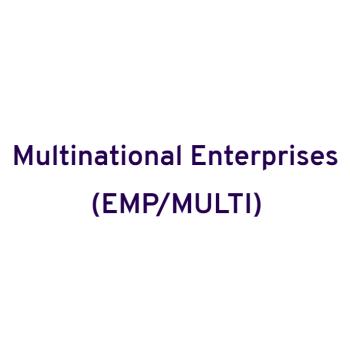 Multinational Enterprises and Enterprise Engagement (MULTI) Unit
